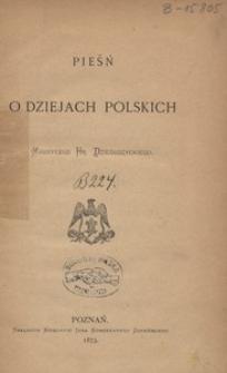 Pieśń o dziejach polskich
