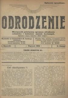 Odrodzenie, 1922, R. 1, z. 11