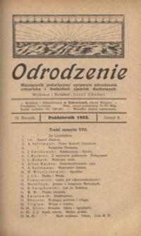 Odrodzenie, 1923, R. 3, z. 8