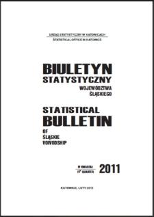 Biuletyn Statystyczny Województwa Śląskiego, 2011, 2 kwartał