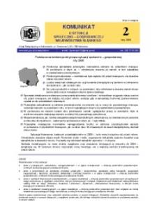 Komunikat o sytuacji społeczno-gospodarczej województwa śląskiego, 2006, nr2