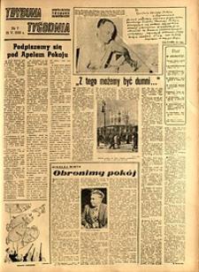 Trybuna Tygodnia, 1950, nr 7