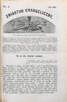 Zwiastun Ewangeliczny, 1878, nr 2