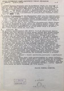 """Serwis Informacyjny Śląsko-Dąbrowskiej Komisji Wykonawczej NSZZ """"S"""", 1988, nr 6"""