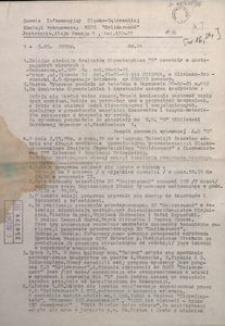 """Serwis Informacyjny Śląsko-Dąbrowskiej Komisji Wykonawczej NSZZ """"Solidarność"""", 1989, nr 24"""