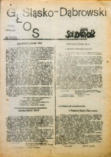 Głos Śląsko-Dąbrowski, 1983, nr 12