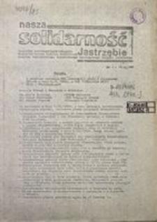 Nasza Solidarność Jastrzębie, 1980, nr 1
