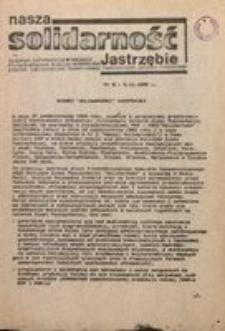 Nasza Solidarność Jastrzębie, 1980, nr 5