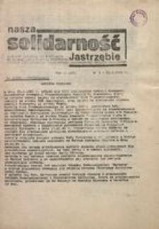 Nasza Solidarność Jastrzębie, 1981, nr 3