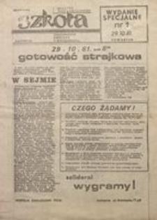"""Szkoła. Biuletyn NSZZ """"Solidarność"""" Pracowników Oświaty i Wychowania, 1981, nr 1"""