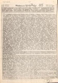 Wiadomości Solidarności, 1981, nr115
