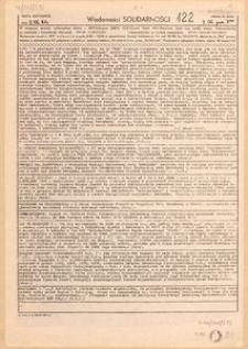 Wiadomości Solidarności, 1981, nr122