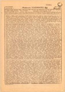 Wiadomości Solidarności, 1981, nr166