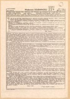 Wiadomości Solidarności, 1981, nr224