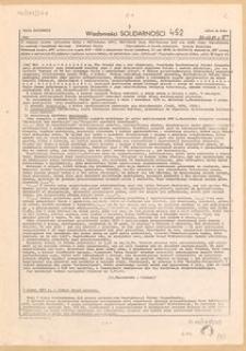 Wiadomości Solidarności, 1981, nr452