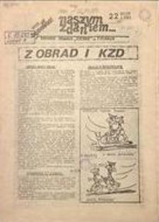 Naszym Zdaniem, 1981, nr 22