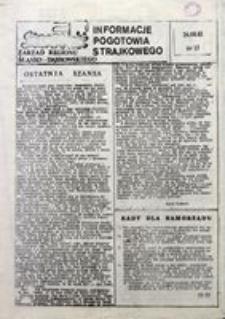Informacje Pogotowia Strajkowego, 1981, nr 15