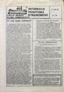 Informacje Pogotowia Strajkowego, 1981, nr 16
