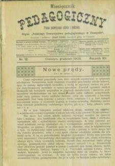 Miesięcznik Pedagogiczny, 1903, R. 12, nr 12