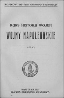 Wojny napoleońskie : atlas