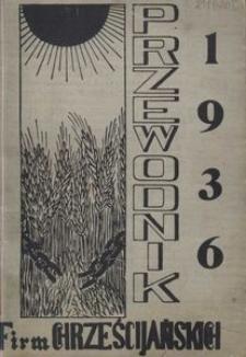 Przewodnik firm chrześcijańskich 1936