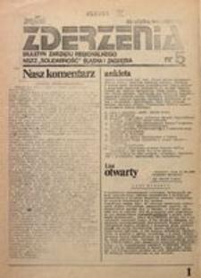 Zderzenia, 1981, nr 5