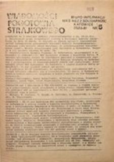 Wiadomości Pogotowia Strajkowego, 1981, nr 5