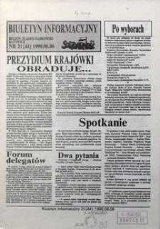 Biuletyn Informacyjny, 1990, nr21
