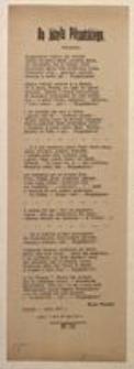 """Do Józefa Piłsudskiego. Czeladź – lipiec 1917 r. """"Iskra"""" z dnia 26 lipca 1917 r."""
