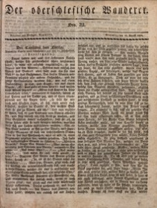 Der Oberschlesische Wanderer, 1829, Jg. 2, nr32