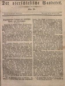 Der Oberschlesische Wanderer, 1829, Jg. 2, nr38