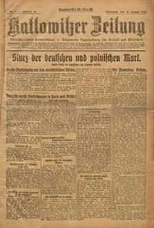 Kattowitzer Zeitung, 1923, Jg. 55, nr2