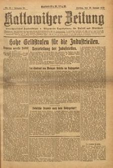 Kattowitzer Zeitung, 1923, Jg. 55, nr20