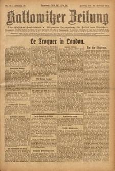Kattowitzer Zeitung, 1923, Jg. 55, nr37