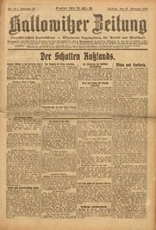 Kattowitzer Zeitung, 1923, Jg. 55, nr43