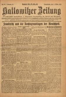 Kattowitzer Zeitung, 1923, Jg. 55, nr50