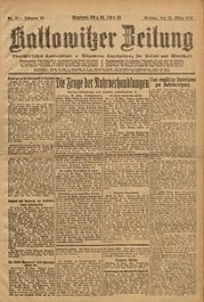 Kattowitzer Zeitung, 1923, Jg. 55, nr73