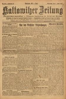Kattowitzer Zeitung, 1923, Jg. 55, nr123
