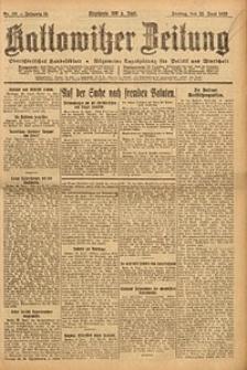 Kattowitzer Zeitung, 1923, Jg. 55, nr138