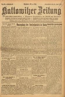 Kattowitzer Zeitung, 1923, Jg. 55, nr139