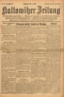 Kattowitzer Zeitung, 1923, Jg. 55, nr140