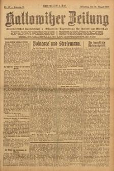 Kattowitzer Zeitung, 1923, Jg. 55, nr187