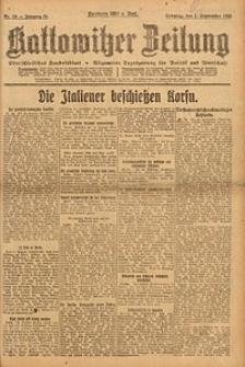 Kattowitzer Zeitung, 1923, Jg. 55, nr198