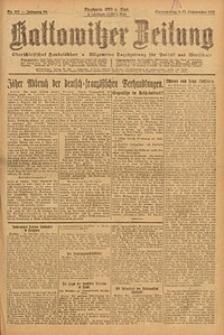 Kattowitzer Zeitung, 1923, Jg. 55, nr207