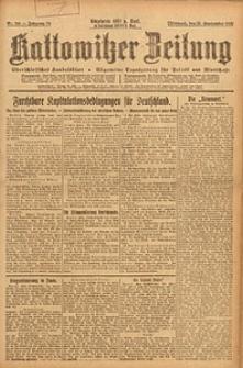Kattowitzer Zeitung, 1923, Jg. 55, nr218