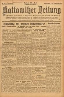 Kattowitzer Zeitung, 1923, Jg. 55, nr219