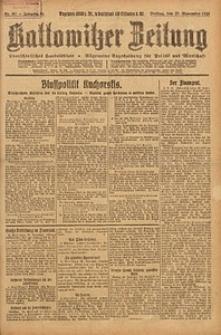Kattowitzer Zeitung, 1923, Jg. 55, nr267