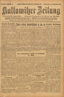 Kattowitzer Zeitung, 1923, Jg. 55, nr289