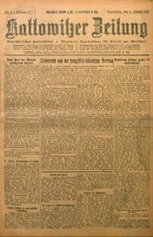 Kattowitzer Zeitung, 1924, Jg. 56, nr4