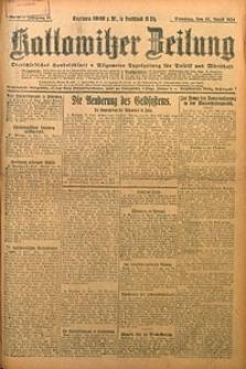 Kattowitzer Zeitung, 1924, Jg. 56, nr88